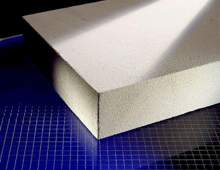 Hőszigetelés mész, cement, és kvarchomok alapanyagokból