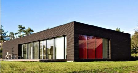 dán passzív családi ház