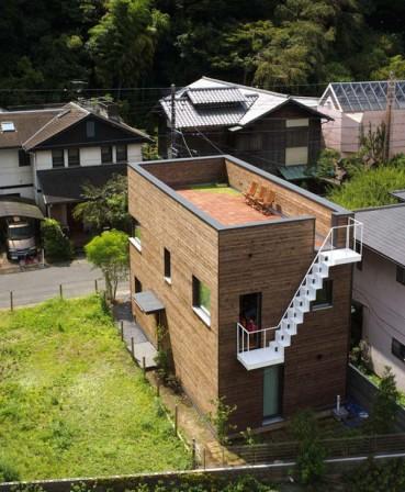 japán passzív ház