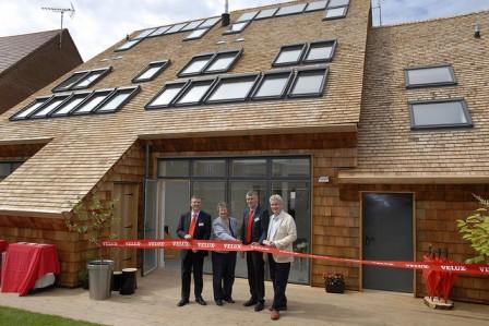 Átadták a Model Home 2020 kísérleti program utolsó előtti, ötödik épületét, a CarbonLight Homes aktívházat