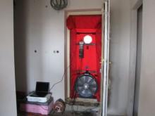 Légtömörség teszt (Blower Door teszt)