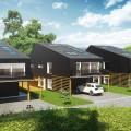 Norvégiában aktívház lakótelep épült