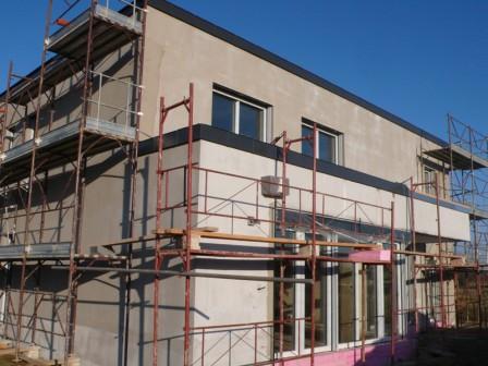 Minősített passzívház építésének folyamata 3.rész: Víz- és hőszigetelés