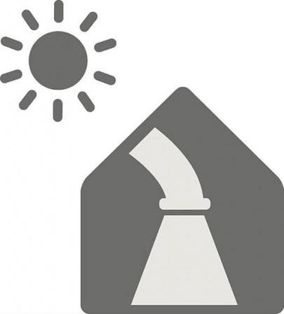 Fénycsatornát alkalmazhatunk a sötét helyiségek megvilágításához