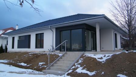 Passzívház közeli, alacsony energiájú családi ház építése
