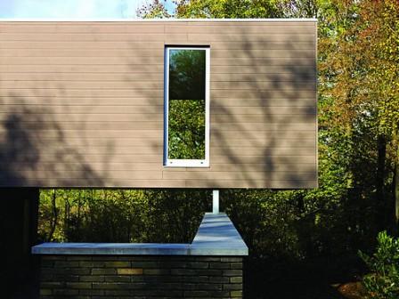 Fa és PVC keveréke- kompozit burkolórendszer