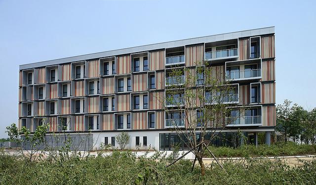 Passzívház apartman szálloda nyílt Kínában