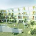 Átadták a 100 lakásos passzívházat a XIII.kerületben