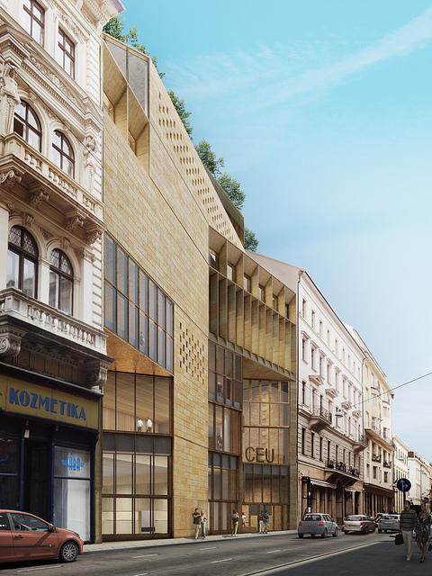 Új egyetemi épületek a belvárosban BREEAM minősítéssel