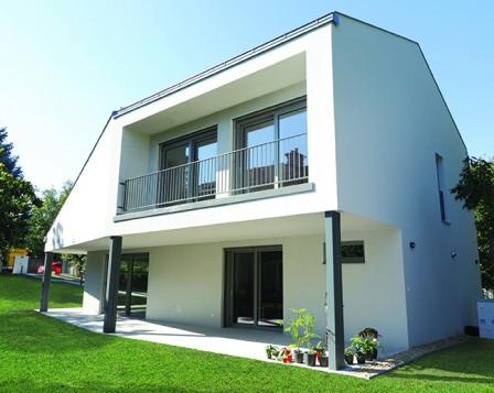 Energiahatékony e4 lakóház